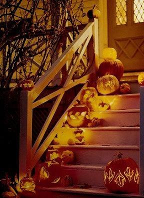 Halloween Porch, Columbus, Ohio