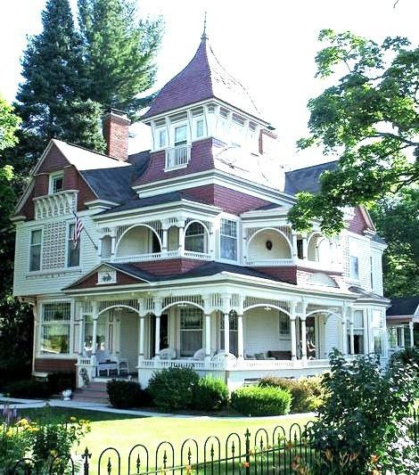 Victorian House, Bellaire, Michigan