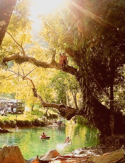 Natural Swimming Pool, Indonesia