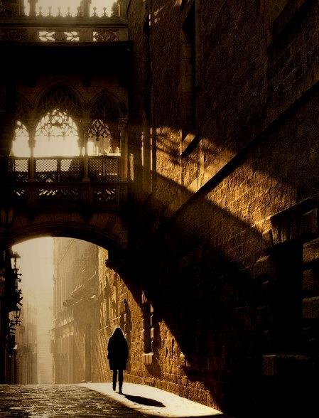 Light and Shadow, Barcelona, Spain