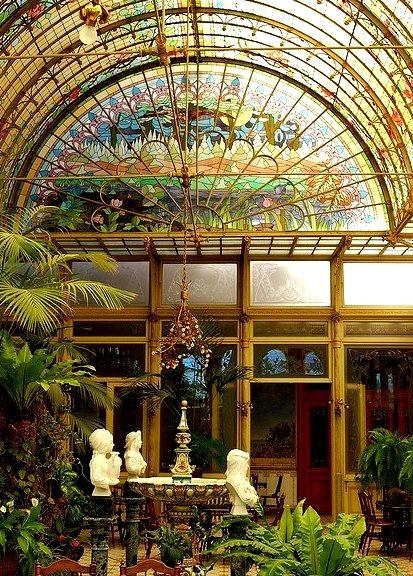 Winter Garden Room, School of the Ursulines, Belgium