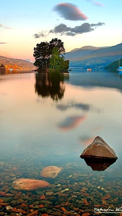 Sunset, Kenmore, Scotland