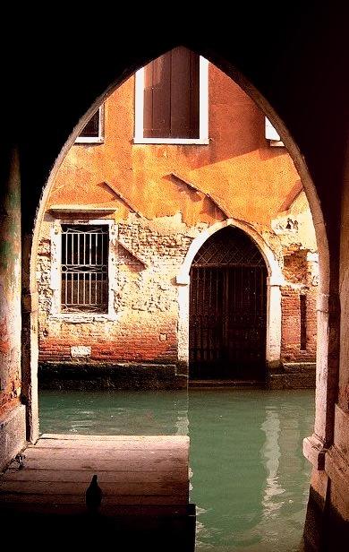 Arches, Venice, Italy
