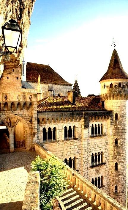 Medieval Castle, Rocamadour, France