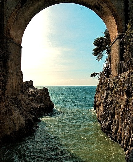Ocean Arch, Amalfi Coast, Italy